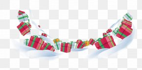 Snow Gift Box - Winter Gift Snow PNG