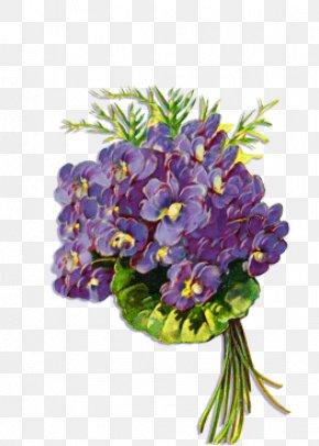 Violet - Floral Design Flower Bouquet Violet Cut Flowers PNG