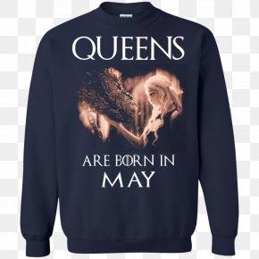 T-shirt - T-shirt Hoodie Daenerys Targaryen Clothing Sleeve PNG