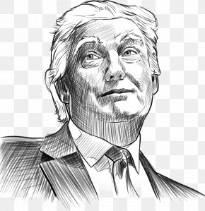 Sketch - White House Chief Strategist Presidency Of Donald Trump President Of The United States PNG