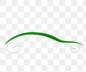 Car Shapes Cliparts - Brand Green Pattern PNG