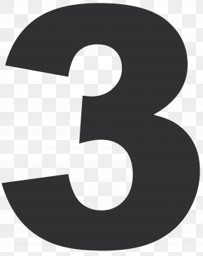 Number Three - Number Logo Clip Art Product Design PNG