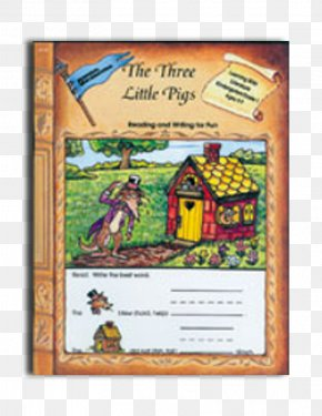 Straw House 3 Little Pigs - Literature Reading Writing The Little Red Hen The Three Little Pigs PNG