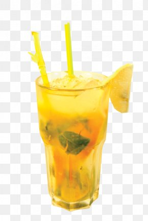 Lemonade - Soft Drink Orange Juice Mai Tai Cocktail PNG