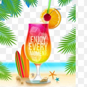 Summer Theme Drinks Element - Summer Royalty-free Photography Illustration PNG