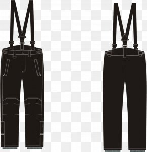 Strap Jeans - Jeans Trousers Suspenders PNG