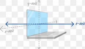 Vertical Time Axis - Three-dimensional Space Cartesian Coordinate System Diagram Design PNG