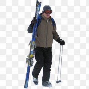 Skiing - Skiing Ski Poles Ski Bindings PNG