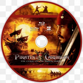 Pirates Of The Caribbean: The Curse Of The Black Pearl - Pirates Of The Caribbean Black Pearl Film DVD Blu-ray Disc PNG