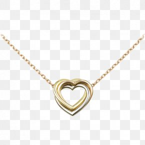 Necklace - Necklace Jewellery Gold Earring Cartier PNG