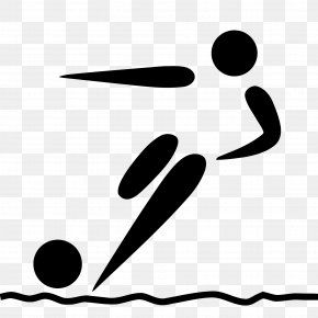 Beach Football - Summer Olympic Games Beach Soccer Football Pictogram PNG