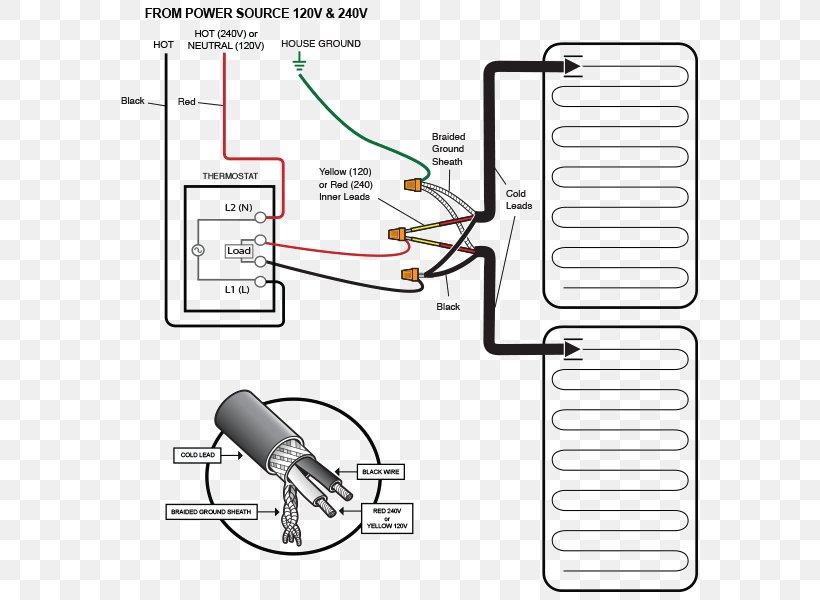 Ac Wiring Diagram Thermostat from img.favpng.com