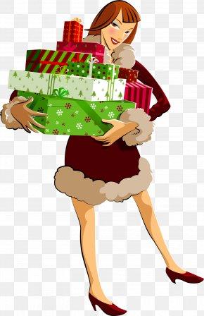 Gif - Christmas Holiday New Year Santa Claus Desktop Wallpaper PNG