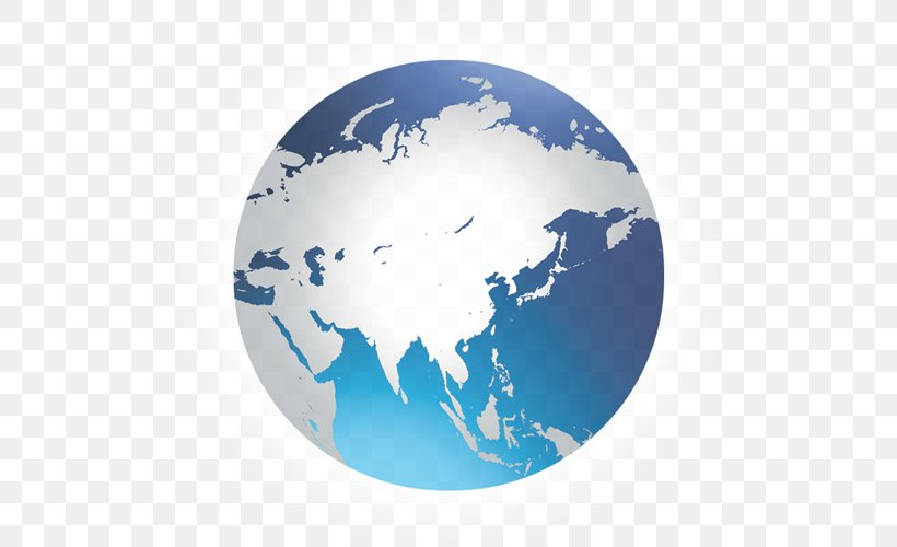 Globe World Middle East East Asia Map, PNG, 500x500px, Globe ...