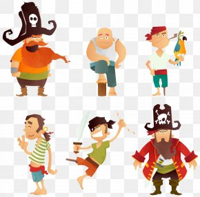 Cartoon Pirate Collection - Piracy Drawing Clip Art PNG