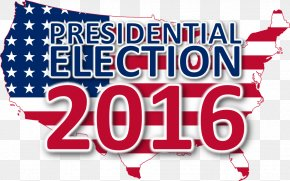 United States - United States Logo Banner US Presidential Election 2016 Brand PNG