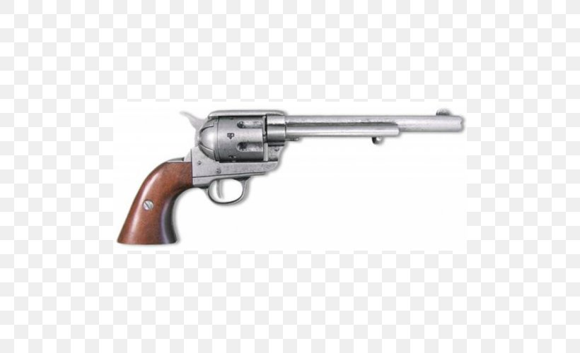 American Frontier Colt Single Action Army Revolver Firearm Pistol, PNG, 500x500px, 45 Colt, American Frontier, Air Gun, Blank, Bullet Download Free