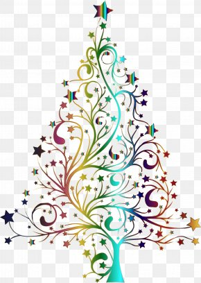Christmas Tree - Clip Art Christmas Day Openclipart Image PNG