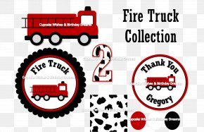 Fire Truck - Fire Engine Firefighter Greeting & Note Cards Birthday Truck PNG