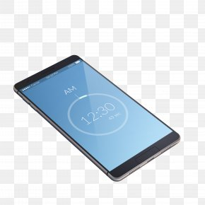 Vector Blue Overlooking Smartphone - Smartphone Feature Phone Mobile Phone PNG