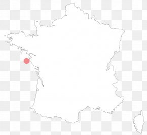 Map - Map France Drawing White PNG