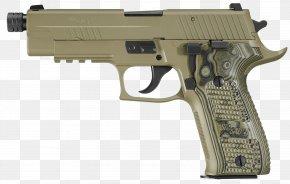 Sig Sauer - SIG Sauer P226 9×19mm Parabellum Sig Holding Firearm PNG