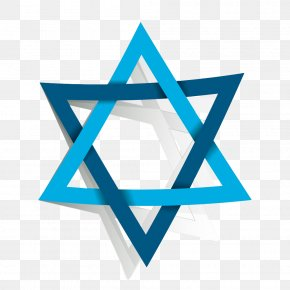 Star Of David - Star Of David Judaism Jewish People Clip Art PNG