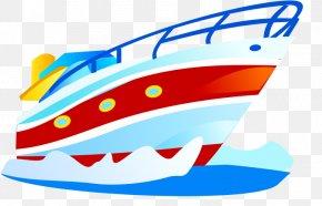Yacht - Watercraft Cartoon PNG