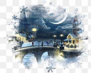Snow - Desktop Wallpaper Village Snow Screensaver PNG