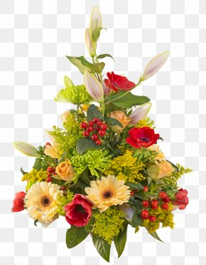 Bouquet Flowers - Flower Bouquet Birthday Cake PNG