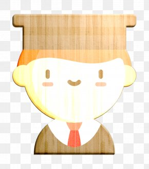 Smile Hat - Student Icon Motivation Icon PNG