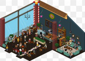 New Record - Habbo Cafe Room Imgur Game PNG