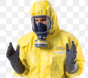 Personal Protective Equipment - Personal Protective Equipment Disposable Clothing Chemical Hazard Workwear PNG