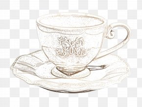 Sketch Coffee - Coffee Tea Cafe Drawing PNG