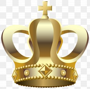 Gold Crown Transparent Clip Art Image - Crown Clip Art PNG