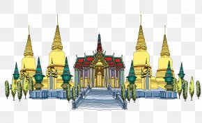Thailand Grand Palace - Thailand Computer File PNG