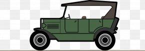 Vector Green Vintage Car - Car Automotive Design Wheel Illustration PNG