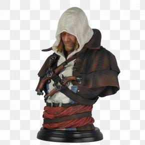 Assassins Creed - Assassin's Creed IV: Black Flag Bust Assassin's Creed: Origins Edward Kenway PNG