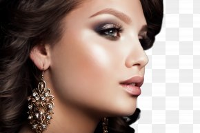 Beauty Hairstyle - Face Hair Eyebrow Skin Cheek PNG