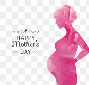 Mother's Day Poster Background - Mother's Day Greeting Card Holiday PNG