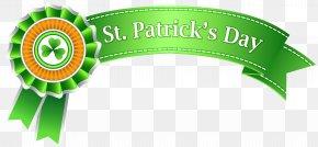 St Patricks Day Banner Transparent PNG Clip Art Image - Saint Patrick's Day Clip Art PNG
