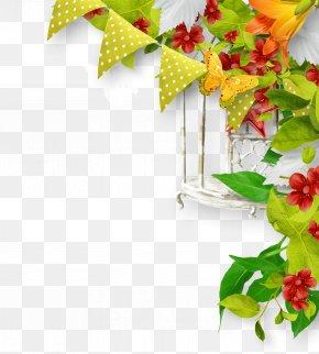 Creative Floral Design Vector Floral Material - Ornament Flower Floral Design PNG