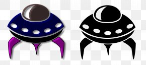 Alien Spaceship Cliparts - Spacecraft Starship Icon PNG