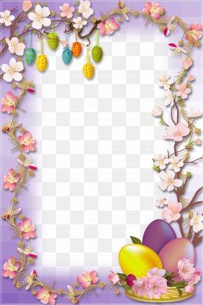 Easter Egg Border - Easter Bunny Easter Egg Egg Hunt PNG