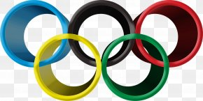 The Olympic Rings - 2016 Summer Olympics Olympic Symbols PNG