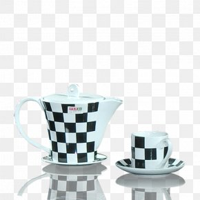 Cup - Optical Illusion Optics Coffee Cup Line PNG