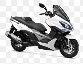 Scooter - Scooter Kymco Xciting Motorcycle Kymco People PNG