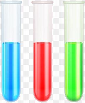 School Test Tubes Transparent Clip Art - Test Tube Clip Art PNG