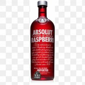 Bottle Image, Free Download Image Of Bottle - Absolut Vodka Distilled Beverage Cocktail Raspberry PNG