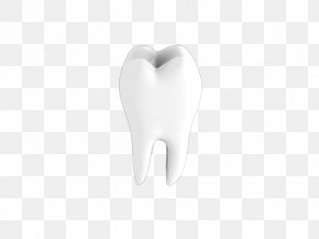 Tooth Image - Black And White Tooth Pattern PNG